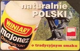 Telefonkarte Polen - Werbung - Lebensmittel - Mayonnaise - 25 - Poland