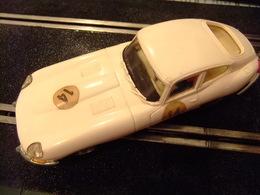 SCALEXTRIC Exin JAGUAR E Ref. C 34 Blanco N 14 Made In Spain - Circuitos Automóviles