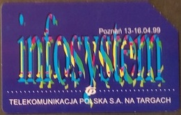 Telefonkarte Polen - Werbung - Poznan - Infosystem - Poland
