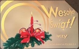 Telefonkarte Polen - Weihnachten - Poland