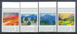 G83- Liechtenstein Vaduz 1991. 700th Anniversary Of Confederation Helvetica - Swiss Paintings. - Liechtenstein