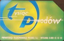 Telefonkarte Polen - Werbung (100) - Poland