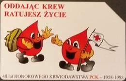 Telefonkarte Polen - Blutspende - Poland