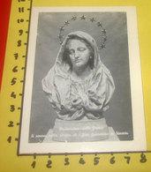Madonna Delle GRAZIE  Chiesa S.Giovanni Grisostomo VENEZIA  SANTINO  Con Preghiera - Santini