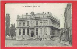 BERGUES HOTEL DE VILLE CARTE EN TRES BON ETAT - Bergues