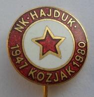 NK HAJDUK Kozjak  Croatia  Football Club , SOCCER / FUTBOL / CALCIO PINS BADGES P1 - Football