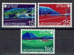 Liechtenstein 1982 // Mi. 799/801 ** - Liechtenstein