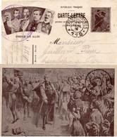 """CL-  """" Honneur Aux Alliés """" -  T Et P *119*- - 1914-18"""