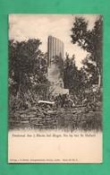 57 Moselle Gravelotte Saint Hubert Monument Allemand Guerre 1870 Denkmal Infanterie Regiments No 69 - Otros Municipios