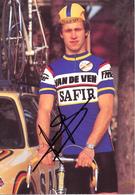 LAMOTE Yvan BEL (Roeselare (West-Vlaanderen), 9-7-'58) 1983 Safir - Van De Ven GESIGNEERD!/SIGNÉ/SIGNED! - Cyclisme