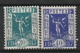 FRANCE 1936 YT N° 323 Et 324 ** - Unused Stamps
