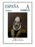 Spain 2014 - Efemerides - El Greco,400 Aniv. De Su Muerte Mnh Tu Sello - Arte