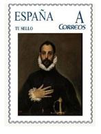 Spain 2015 - Doménikos Theotokópoulos (EL GRECO) - El Caballero De La Mano En El Pecho Mnh Tu Sello - Arte