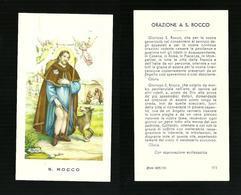 Santino - S. Rocco Tipo 2 - Vedi Retro - Santini