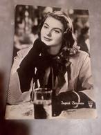 Ingrid Bergman RKO RADIO FILMS Cartolina VIAGGIATA 1952 - Donne Celebri