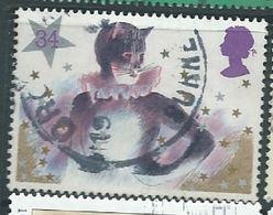 GROSSBRITANNIEN GRANDE BRETAGNE GB 1985 CHRISTMAS: PANTOMIME CAT  34P USED  SG 1307 SC 1128 MI 1055 YT 1206 - 1952-.... (Elisabeth II.)