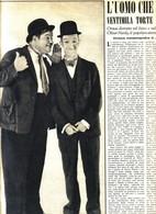 (pagine-pages)la Scomparsa Di OLIVER HARDY   Oggi1957/34. - Libri, Riviste, Fumetti