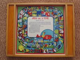 """JEU DE L'OIE Dessins De """"P. NIVELLE"""" - BOITE. Sans Pions - Autres Collections"""