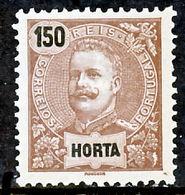 !■■■■■ds■■ Horta 1897 AF#23* King Carlos Mouchon 150 Réis (x5842) - Horta