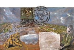 Spain 2014 - IV Cent. Muerte Del Greco Maximum Card - Arte