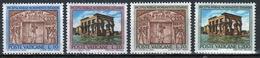 Vatican 1964 Complete Set Of Stamps Celebrating Nubian Monuments. - Vatican