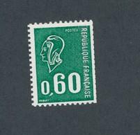 FRANCE - TYPE BECQUET N°YT 1815b) DOUBLE NUMERO ROUGE NEUF** SANS CHARNIERE -  COTE YT : 25€ - 1974 - 1971-76 Marianne De Béquet