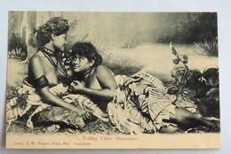 """C. P. A.: FIDJI, FIJI : """"Telling Tales"""", Samoans, Two Young Ladies Topless, SUPERBE - Fiji"""