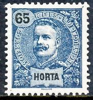 !■■■■■ds■■ Horta 1898 AF#30* King Carlos Mouchon New Colors 65 Réis (x3816) - Horta