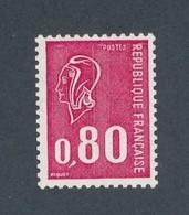 FRANCE - TYPE BECQUET N°YT 1816c) NUMERO ROUGE GOMME TROPICALE NEUF** SANS CHARNIERE -  COTE YT : 25€ - 1974 - 1971-76 Marianne De Béquet