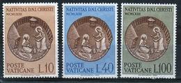 Vatican 1963 Complete Set Of Stamps Celebrating Christmas. - Vatican