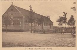 Heide ,( Calmpthout ), St Jozefsschool , Ingang ,( Photo Hoelen ,Cappellen ,154 ) - Kalmthout