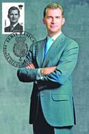 Spain 2015 (España 2015) - I Emision Serie Basica Felipe VI  High Value Maximum Card - 1931-Hoy: 2ª República - ... Juan Carlos I