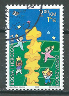 Bosnie-Herzégovine YT N°320 Europa 2000 Oblitéré ° - Europa-CEPT