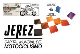 Spain 2016 - Jerez, Capital Mundial Del Motociclismo 2015-2017 Maximum Card - Motos