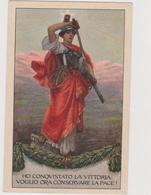 Pubblicitaria,  VI° Prestito Nazionale, Periodo Post I° Guerra Mondiale  - F.p. -  Anni '1920 - Reclame