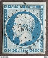 1852, President Louis Napoléon, Bleu, France, Republique Française - 1852 Louis-Napoleon
