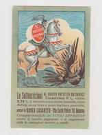 Pubblicitaria, Banca Casareto Genova, V° Prestito Nazionale, Periodo I° Guerra Mondiale   - F.p. -  Anni '1910 - Reclame