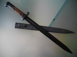 Baionnette Dague Militaire Mauser VZ24 - Armes Blanches