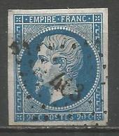 FRANCE - Oblitération Petits Chiffres LP 463 BOURBOURG (Nord) - 1849-1876: Periodo Classico