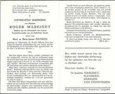 Doodsprentje Van ROGER MARGINET- Student Te Leuven- Leider SCOUTS- ° ONKERZELE 1934- +1955 (21 Jaar) Verongelukt - Religion & Esotérisme