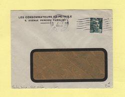 Frankers Secap - Paris VIII - 6 Lignes Ondulees Serrees - Marcophilie (Lettres)
