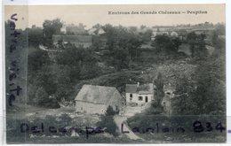 - Environs Des Grands CHEZEAUX - ( Hte-Vienne ), Peupiton,  Peu Courante, épaisse, Non écrite, TTBE, Scans. - France