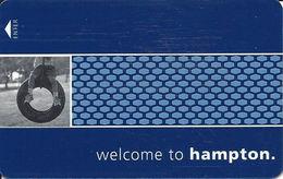 Hampton Hotel Room Key Card - Hotel Keycards