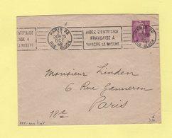 RBV - Paris 96 (sans Tiret) - Aidez L Entr'aide Francaise A Vaincre La Misere - Marcophilie (Lettres)