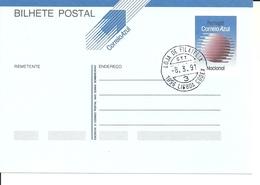 Portugal 1991 - Postal Stationery Correio Azul Cancelled - Postwaardestukken