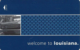 Hampton Louisina Hotel Room Key Card - Hotel Keycards