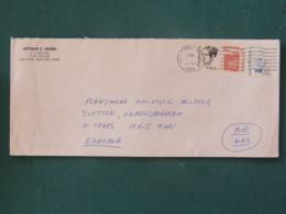 USA 1985 Cover To England - Freedom Of Speach - Robert Millikan - Dorothea Dix - Etats-Unis