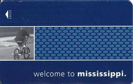 Hampton Mississippi Hotel Room Key Card - Hotel Keycards