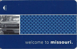 Hampton Missouri Hotel Room Key Card - Hotel Keycards