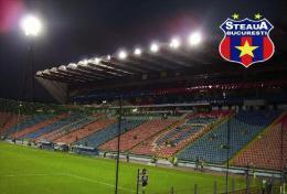 Stadium Stadionul Ghencea (FC Steaua Bucureşti,Romania) Postcard - Size: 15x10 Cm. Aprox - Fútbol